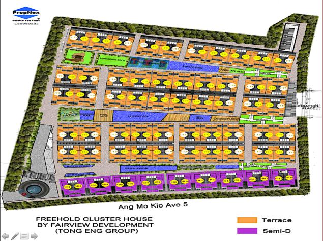 Belgravia Villa Site plan A