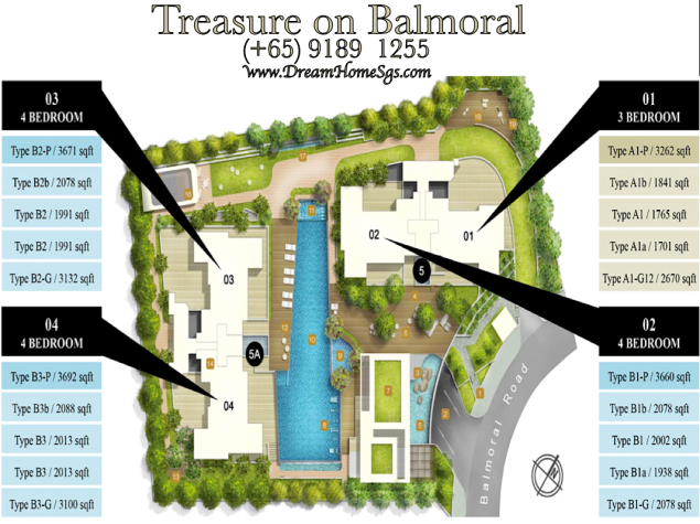 Treasure on Balmoral Site plan2