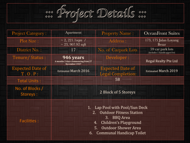 Project Details  OFS